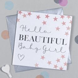 Manhattan Baby Girl Card