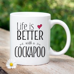 'Life Is Better With A Cockapoo' Mug found on Bargain Bro UK from Notonthehighstreet.com