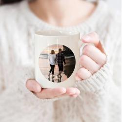 Personalised Couple Photo Mug