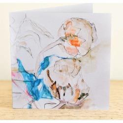 Dried Thistles Greetings Card