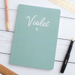 Personalised Name Foil Notebook