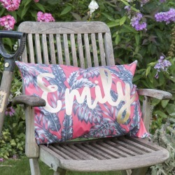 Personalised Name Outdoor Cushion