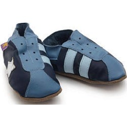 Soft Leather Baby Shoes Retro