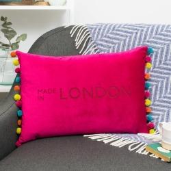 Favourite Place Personalised Velvet Cushion