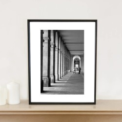 Arches, Barcelona, Spain, Signed Art Print