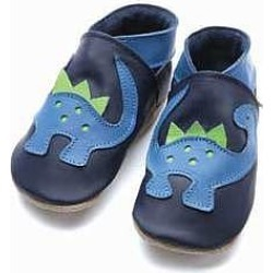 Soft Leather Baby Shoes Dino