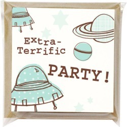 Lollipop Designs Pack Of Six Space Party Invitations