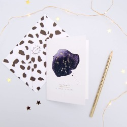 Birthday Card Sagittarius Zodiac Star Sign