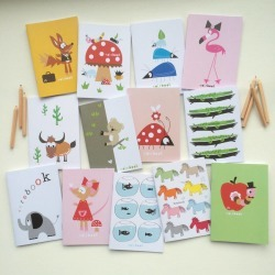 halfpinthome Children's Character Notebook Party Bag Filler