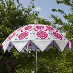 Parasol Company Embroidered Cotton Indian Inspired