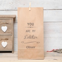 Personalised You Are My Lobster Gift Bag