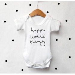 Happy Little Thing Baby Vest