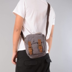 Compact Canvas Leather Dslr Camera Bag found on Bargain Bro UK from Notonthehighstreet.com for $70.51