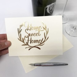 Papercut Home Sweet Home Card