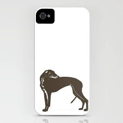 Greyhound Dog Case For IPhone found on Bargain Bro UK from Notonthehighstreet.com for $31.46