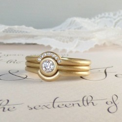 Trinity Set Of Ethical Wedding And Engagement Rings