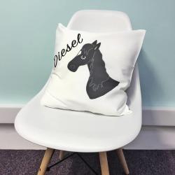 Horse Cushion Personalised