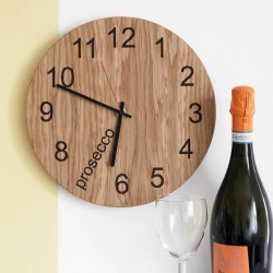 Prosecco O'clock Clock found on Bargain Bro UK from Notonthehighstreet.com