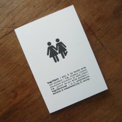 Two Girls Together Card