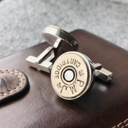 Personalised Shotgun Cufflinks found on Bargain Bro UK from Notonthehighstreet.com for $249.30