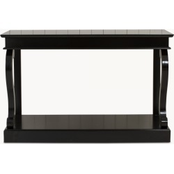 Stanley Black Console Table