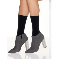 Hanes Perfect X-Temp Opaque Mid Calf Socks 2-Pack Black 1 Women's found on Bargain Bro Philippines from onehanesplace.com for $6.00