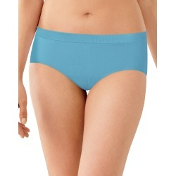 Bali Comfort Revolution Seamless Hipster Raindrop Blue 6/7 Women's found on Bargain Bro India from onehanesplace.com for $10.00