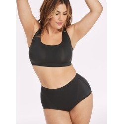 Bali Comfort Revolution EasyLite Smoothing Brief, 2-Pack Black/Black L Women's found on Bargain Bro India from onehanesplace.com for $24.00