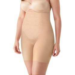 Maidenform High Waist Thigh Slimmer with Cool Comfort & LYCRA FitSense Nude 1/Transparent XL Women's found on Bargain Bro India from onehanesplace.com for $27.00