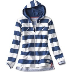 Organic Cotton French Terry Full-zip Hoodie found on Bargain Bro UK from Orvis UK