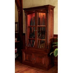 Cherrywood Security Gun Cabinet found on Bargain Bro from Orvis for USD $5,316.20