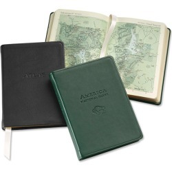 Personalized Leather-bound Atlas / Personalized Leather-bound Atlas, Each, Type: Rocky Mountain found on Bargain Bro from Orvis for USD $44.84