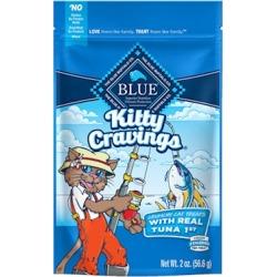 Blue Buffalo Kitty Cravings Tuna Crunchy Cat Treats 2-oz
