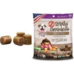 Loving Pets Totally Grainless Grain Free Beef Stew Recipe Sausage Bites Large Breed Dog Treats 6-oz