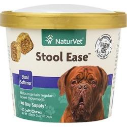 NaturVet Stool Ease 40 Soft Chews