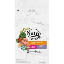 Nutro Wholesome Essentials Small Breed Senior Chicken, Whole Brown Rice and Sweet Potato Dry Dog Food 5-lb