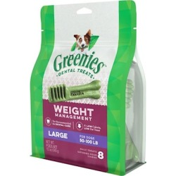 Greenies Weight Management Dental Treats for Large Dogs 8 Count