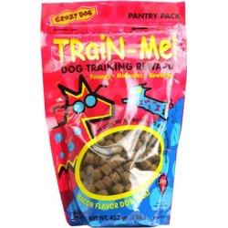 Crazy Dog Train-Me! Treats Bacon Flavor 1 lb