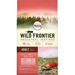 Nutro Wild Frontier Grain Free Adult Cold Water Salmon Recipe Dry Cat Food 2-lb
