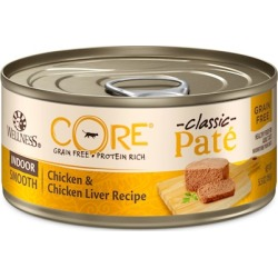CHEAP Wellness CORE Grain Free Formula for Indoor Cats canned 5.5 oz – Case of 24