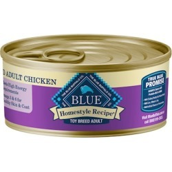 Blue Buffalo Homestyle Chicken Dinner with Garden Vegetables for Toy Breed Canned Dog Food 5.5-oz, case of 24