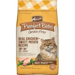 Merrick Purrfect Bistro Grain Free Real Chicken Recipe Dry Cat Food 7-lb