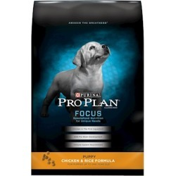 Purina Pro Plan Chicken and Brown Rice Entree Dry Food for Puppies 34 Lb bag