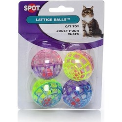 Lattice Balls with Bell - 4 pk. 4 pack found on Bargain Bro India from PetCareRx for $2.36