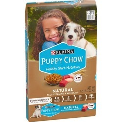 Purina Puppy Chow Natural Chicken Plus Vitamins and Minerals Dry Puppy Food 15.5-lb