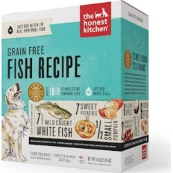 The Honest Kitchen Grain Free Fish Recipe Dehydrated Dog Food 4-lb, Makes 16 lbs of food