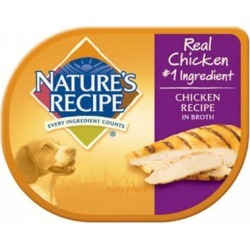Nature's Recipe Chicken Recipe in Broth Wet Dog Food 2.75-oz, case of 12
