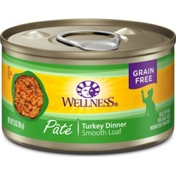 Wellness Turkey Canned Cat Food 5.5oz cans - case of 24