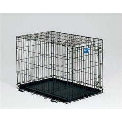 Lifestages Crate with Divider Panel 42'