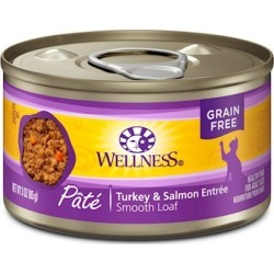Wellness Canned Cat Food Turkey & Salmon Recipe 3oz cans - case of 24
